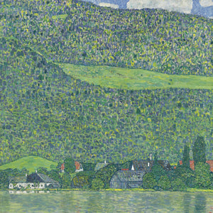 Litzlberg On The Attersee 1914 1915 By Gustav Klimt