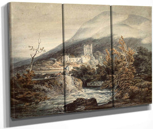 Llanthony Abbey Monmouthshire By Joseph Mallord William Turner