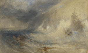 Long Ship's Lighthouse Land's End By Joseph Mallord William Turner