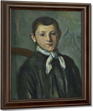 Louis Guillaume By Paul Cezanne