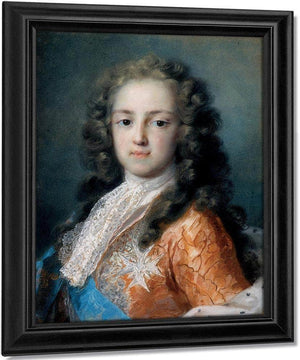 Louis Xv Of France As Dauphin 1721 By Rosalba Carriera