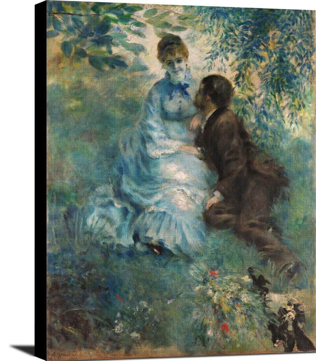 Lovers Painting Auguste Renoir Canvas Art
