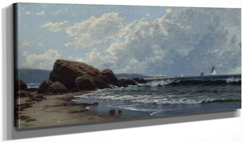 Low Tide, Hetherington's Cove, Grand Manan By Alfred Thompson Bricher