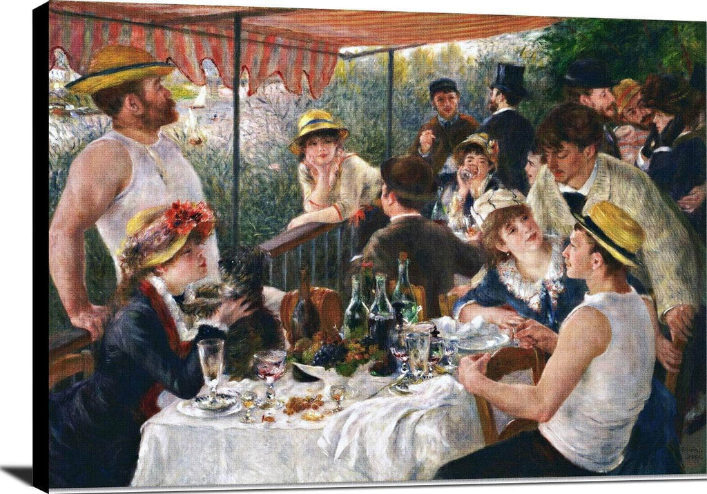Luncheon Boating Party Painting Auguste Renoir Canvas Art