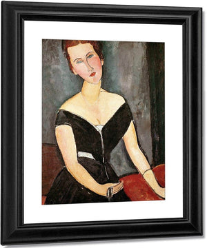 Madame G. Van Muyden By Amedeo Modigliani