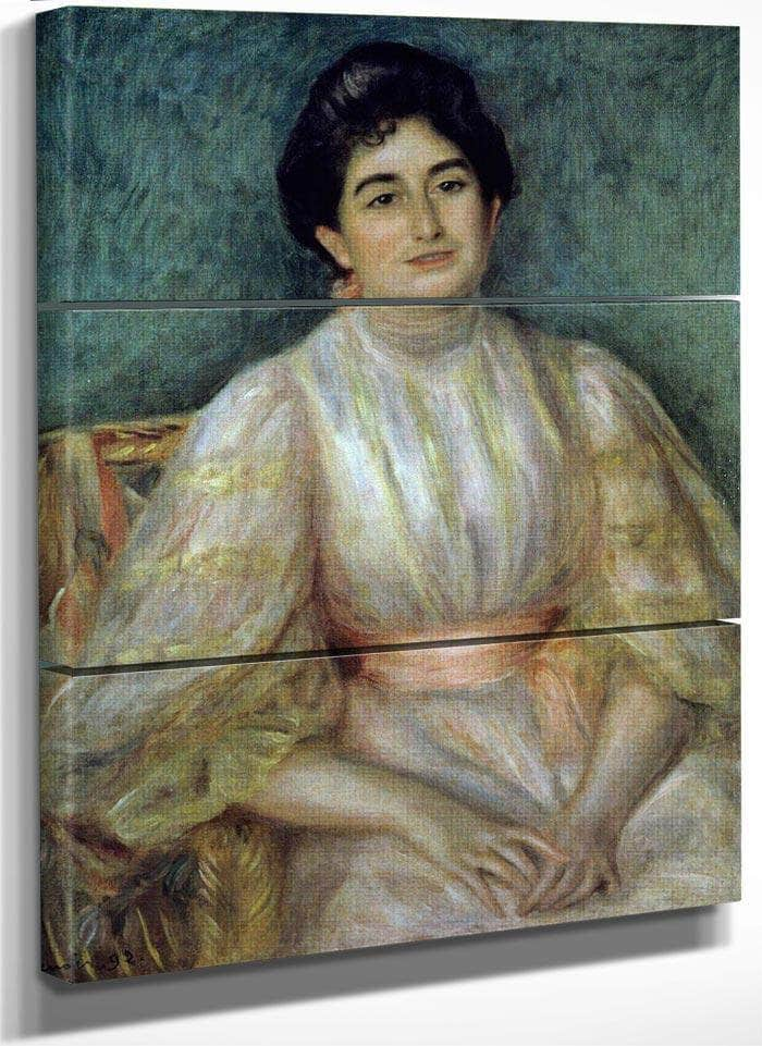 Madame Gallimard By Pierre August Renoir