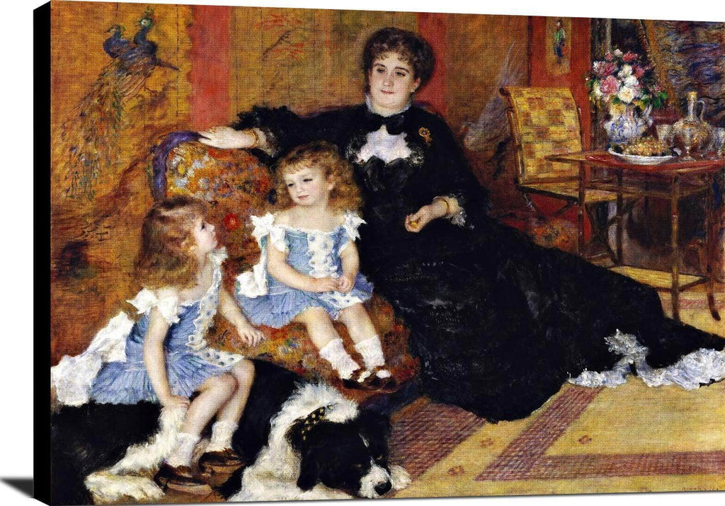 Madame Georges Charpentier Painting Auguste Renoir Canvas Art