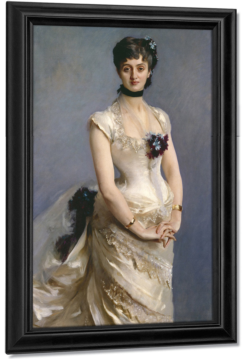 Madame Paul Poirson By John Singer Sargent