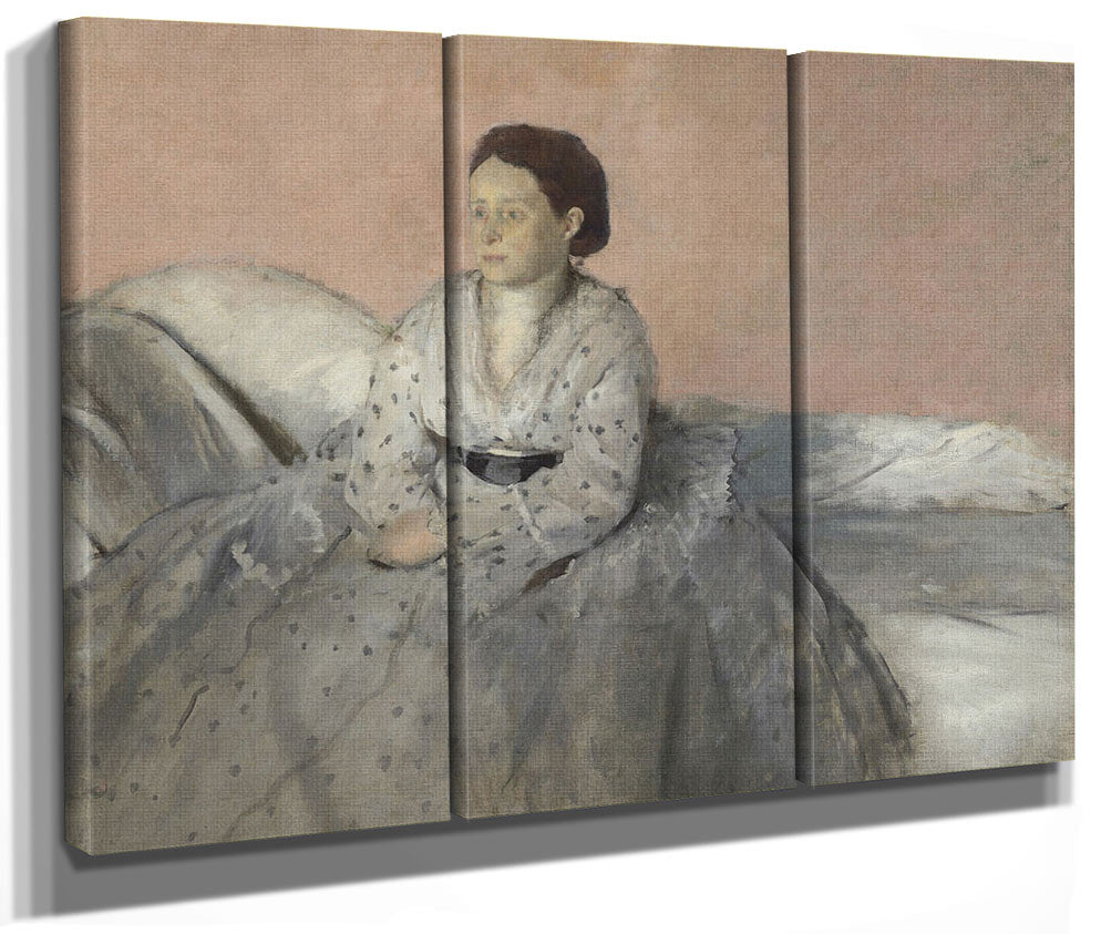 Madame Rene De Gas By Edgar Degas