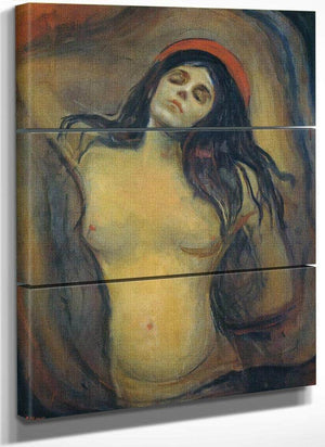 Madonna 1894 95 By Edvard Munch