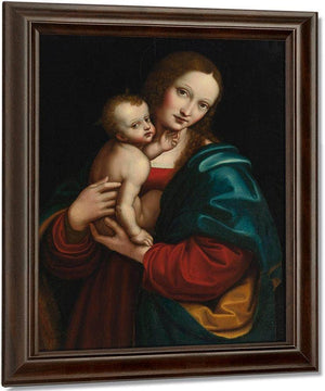 Madonna And Child Giampietrino By Giampietrino