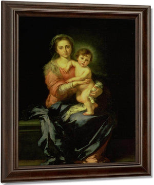 Madonna And Child By Bartolome Esteban Murillo