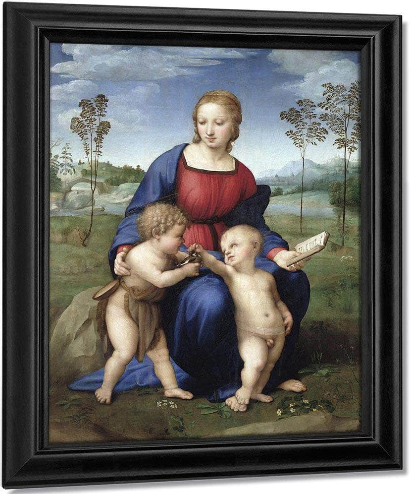 Madonna Del Cardellino (Madonna Of The Goldfinch) By Raphael