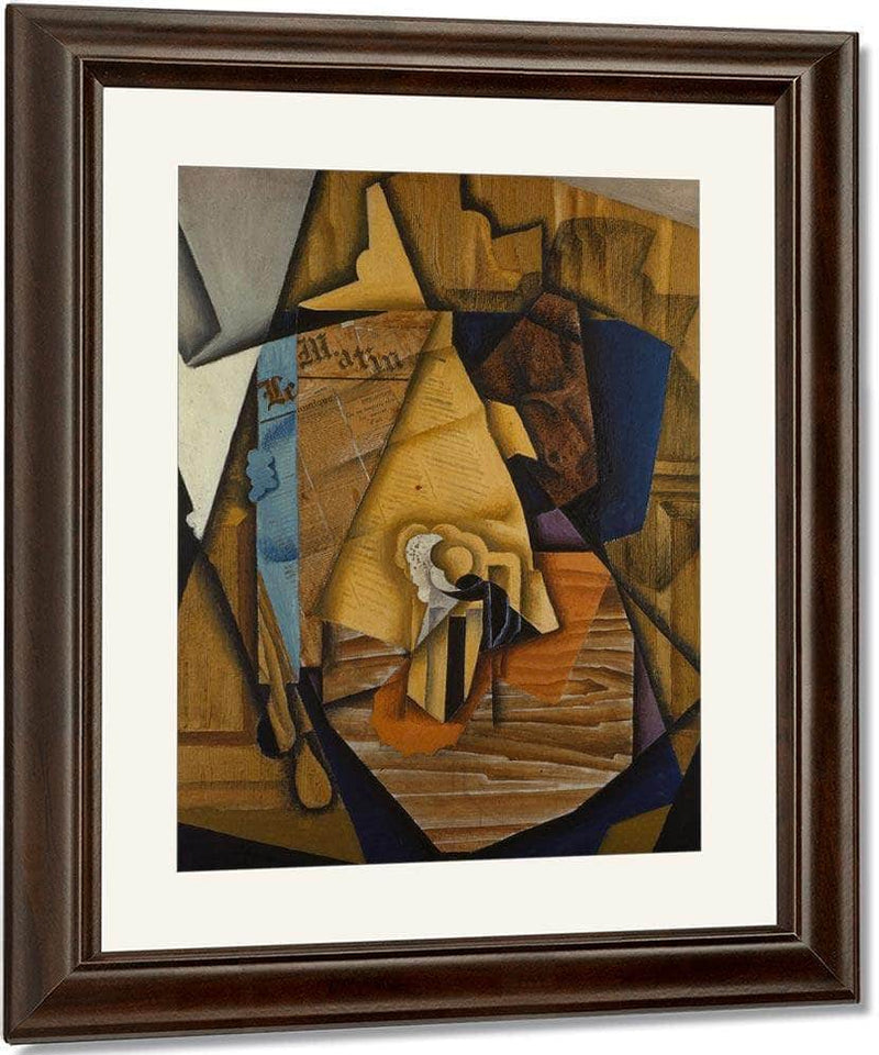 Man At The Cafe By Juan Gris