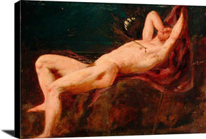 Man With An Arrow William Etty