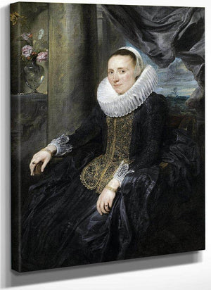 Margareta Snyders By Anthony Van Dyck