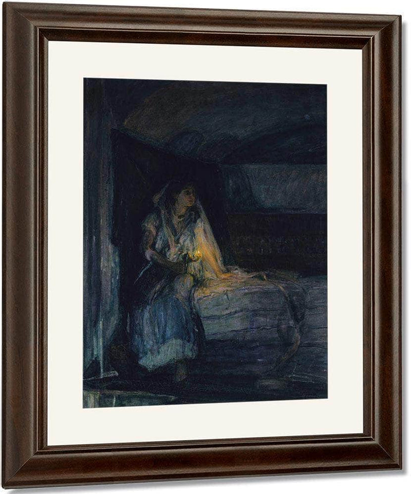 Mary 1914 By Henry Ossawa Tanner