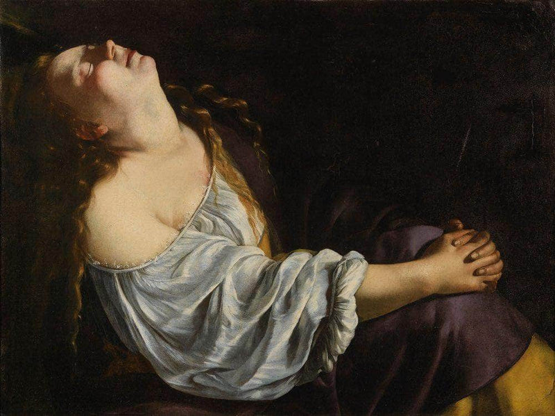 Mary Magdalene 1620 By Artemisia Gentileschi
