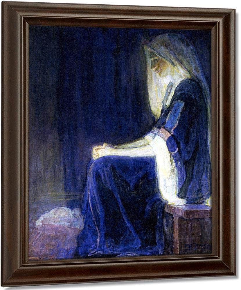 Mary1 By Henry Ossawa Tanner