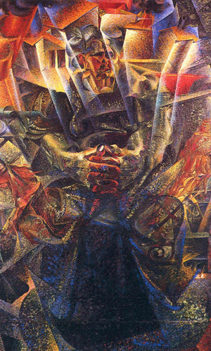Materia 1912 Oil On Canvas 150X225 Private Collection By Umberto Boccioni