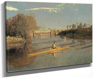 Max Schmitt In A Single Scull 2 By Thomas Eakins