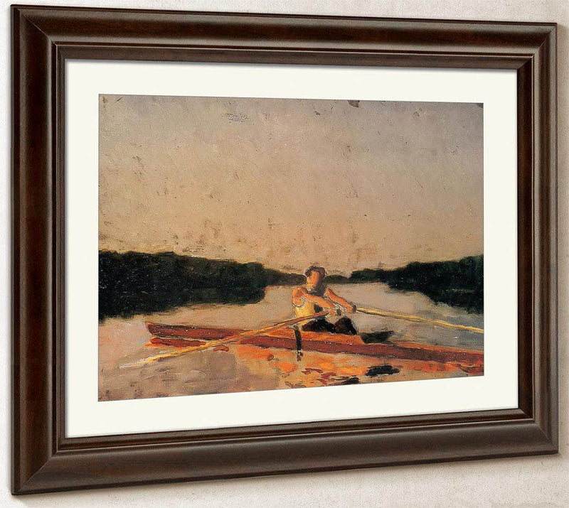 Max Schmitt In A Single Scull By Thomas Eakins