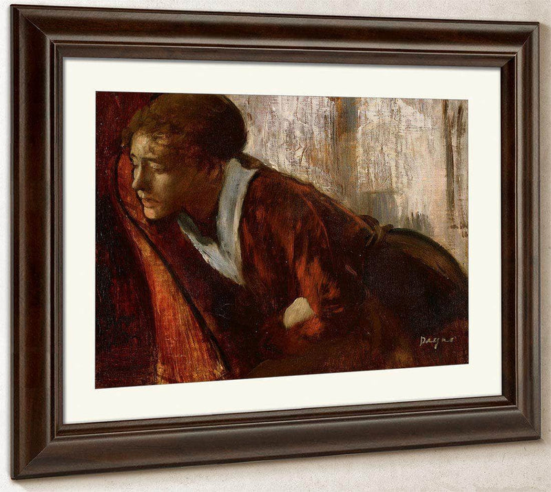 Melancholy By Edgar Degas By 01