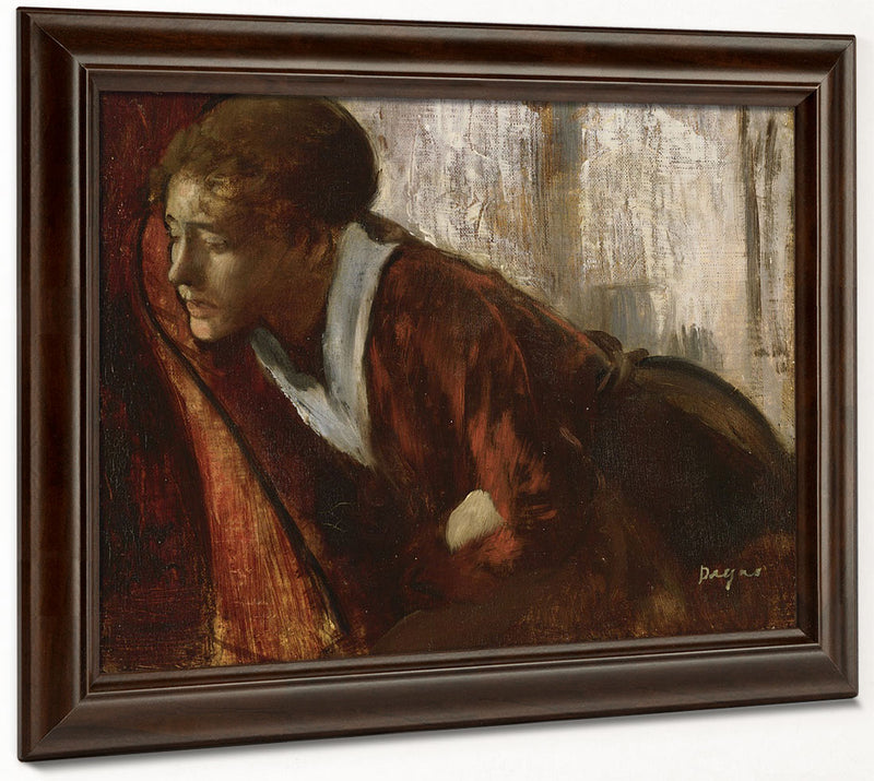 Melancholy By Edgar Degas