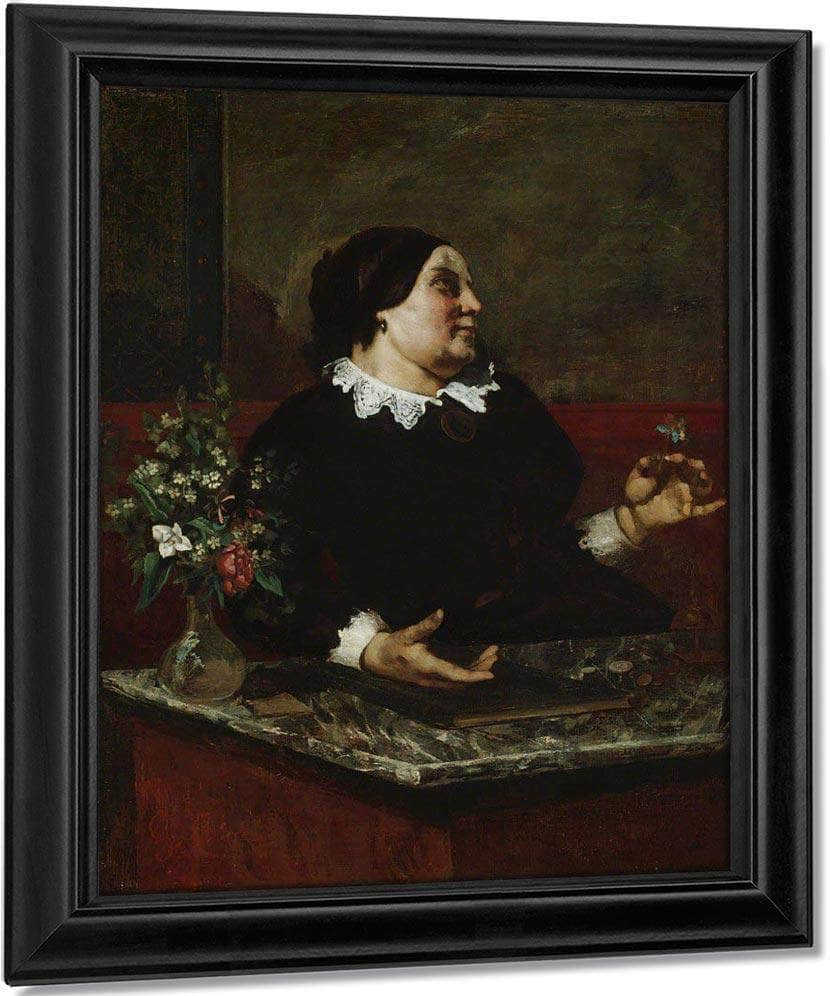 Mere Gregoire By Gusave Courbet