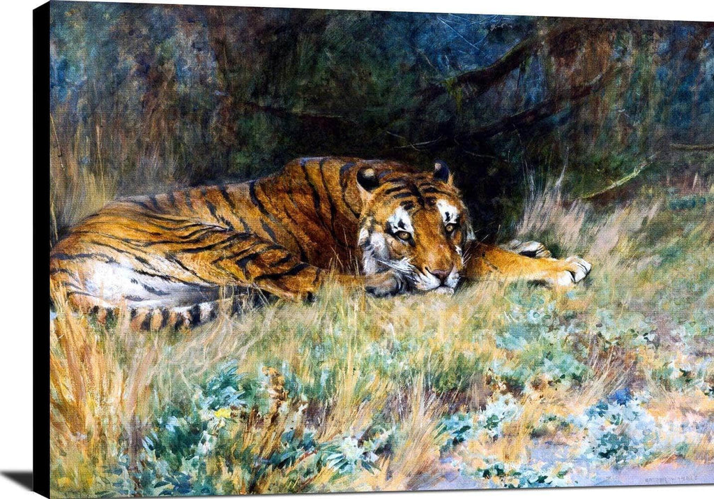 Midday Rest Painting Arthur Wardle Canvas Art