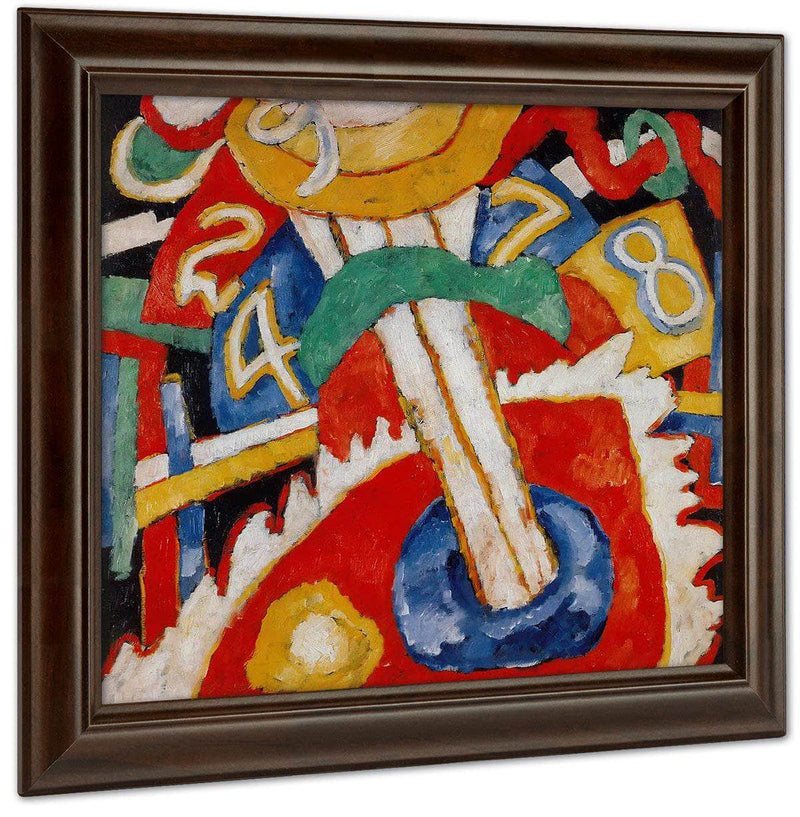 Military 1913 By Marsden Hartley