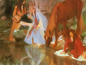 Mille Eugenie Fiocre In The Ballet La Source By Edgar Degas