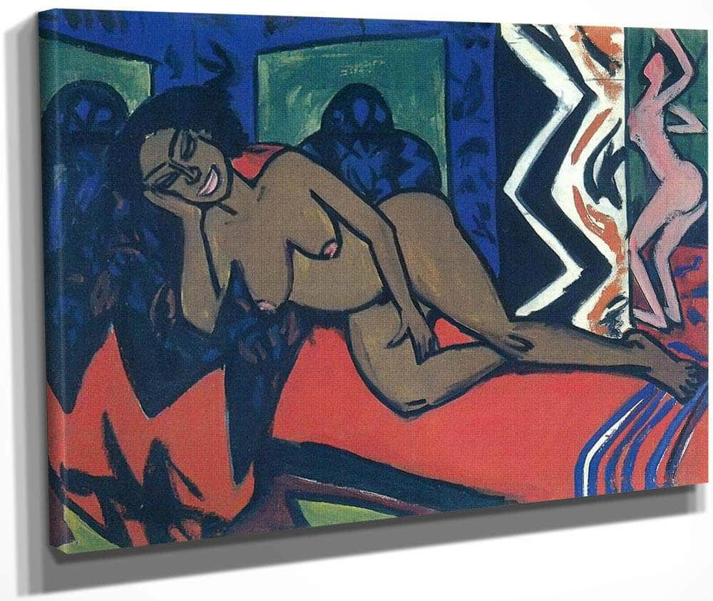 Milly Sleeping By Ernst Ludwig Kirchner