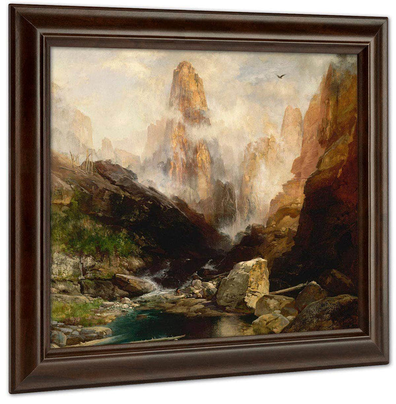 Mist In Kanab Canyon, Utah By Thomas Moran