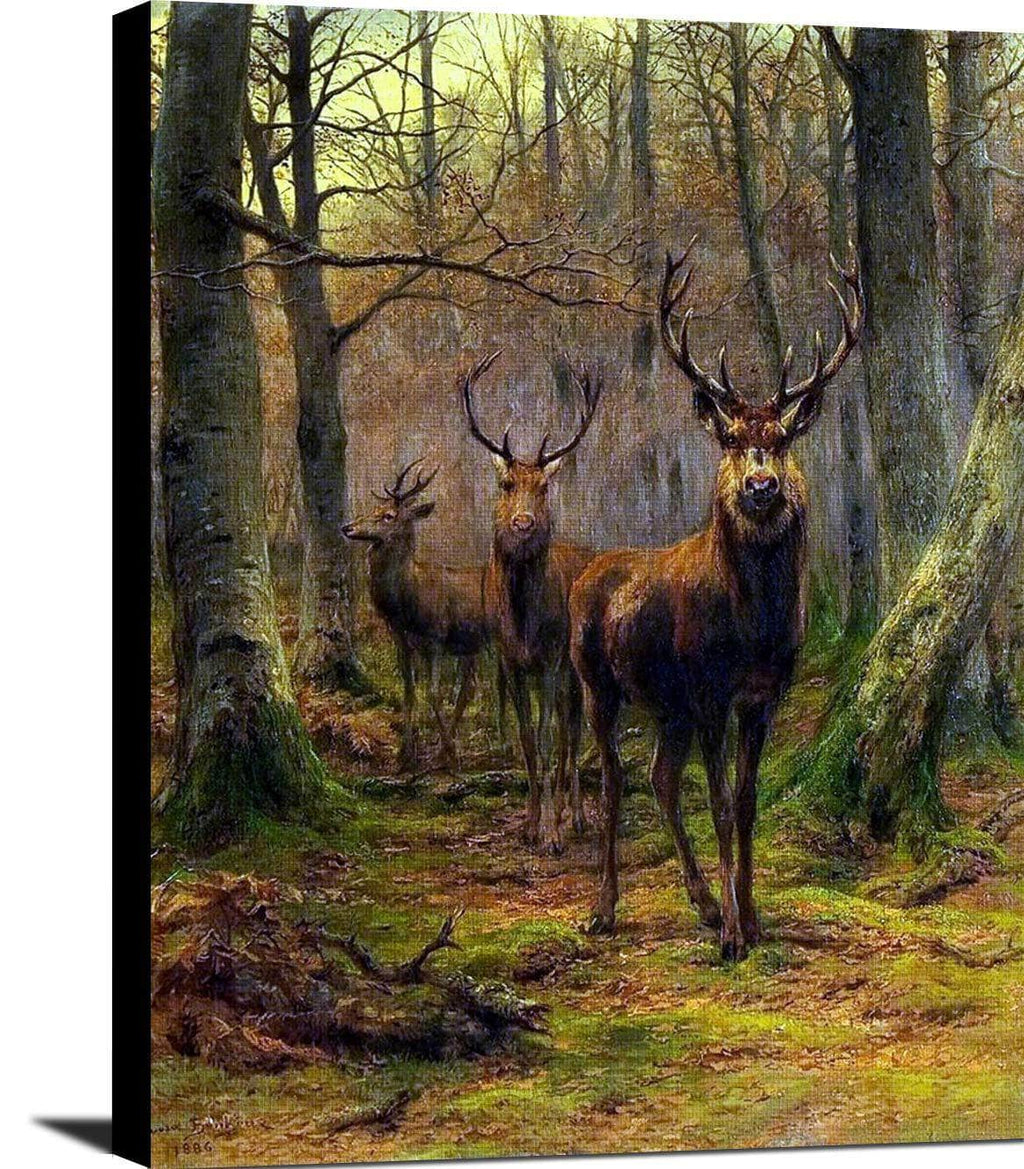 Monarch Of The Forest Painting Rosa Bonheur Canvas Art