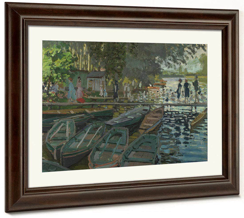 Monet   Bathers At La Grenouille Re By Claude Monet