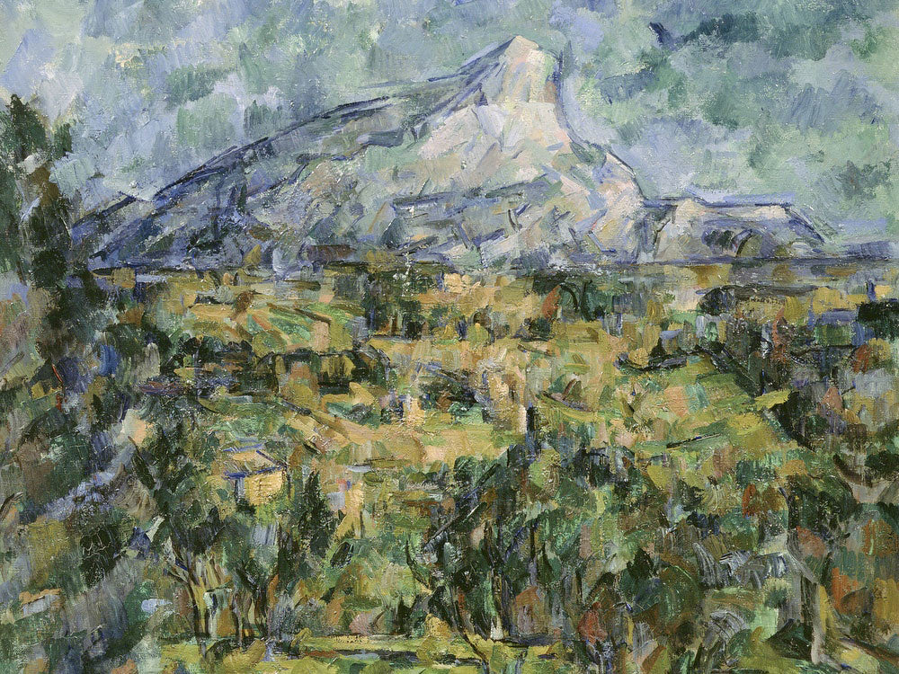 Mont Sainte Victoire 2 By Paul Cezanne
