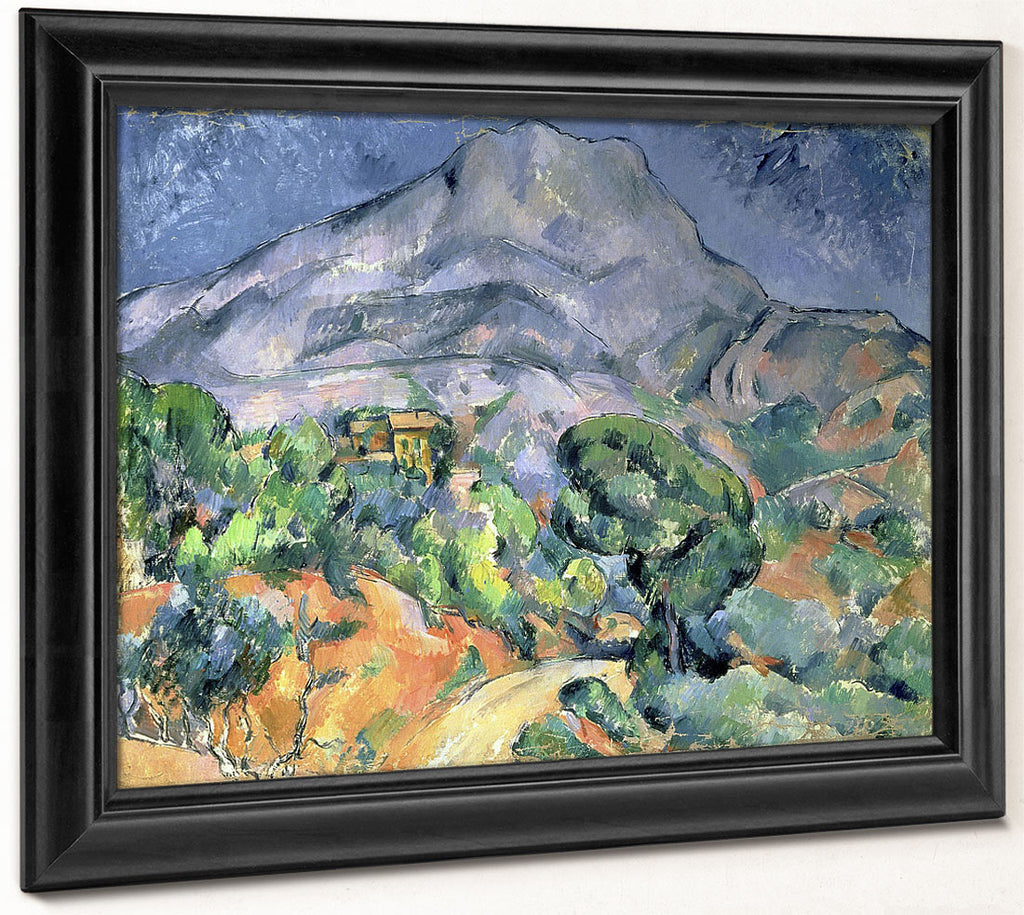 Mont Sainte Victoire 3 By Paul Cezanne