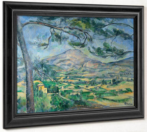Mont Sainte Victoire With Large Pine 1887 By Paul Cezanne