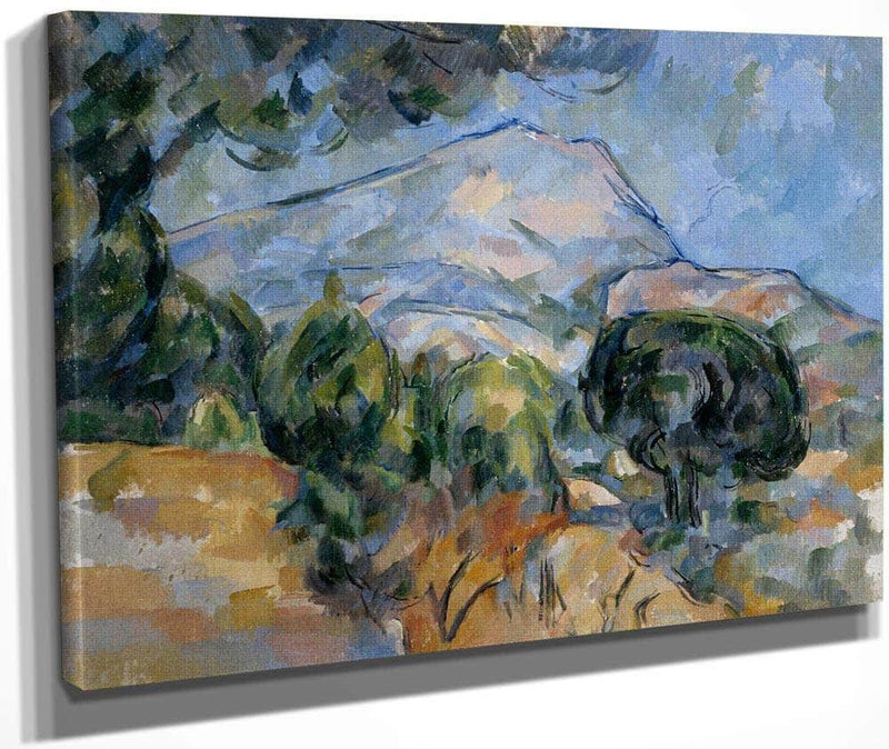 Mont Sainte Victoire By Cezanne Paul 0