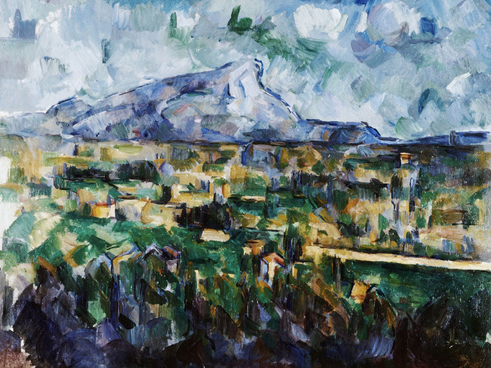 Mont Sainte Victoire By Paul Cezanne