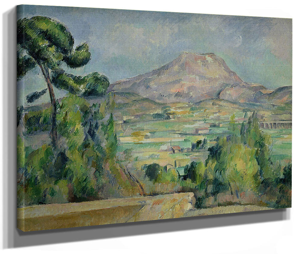Montagne Sainte Victoire 2 By Paul Cezanne