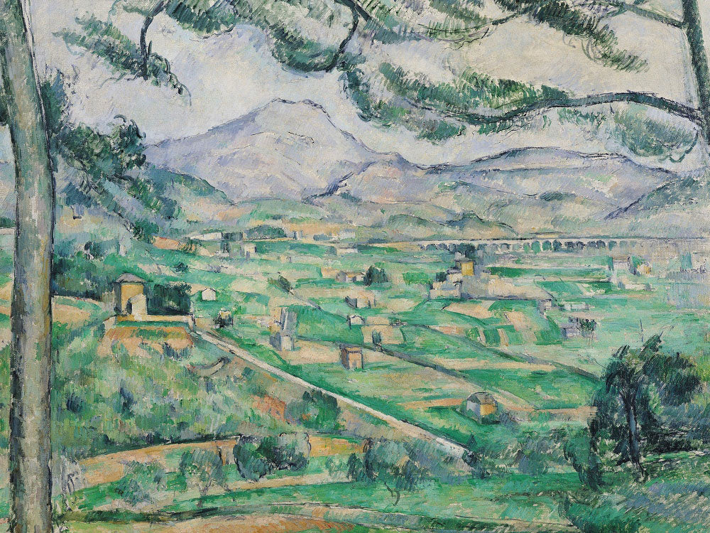 Montagne Sainte Victoire 3 By Paul Cezanne