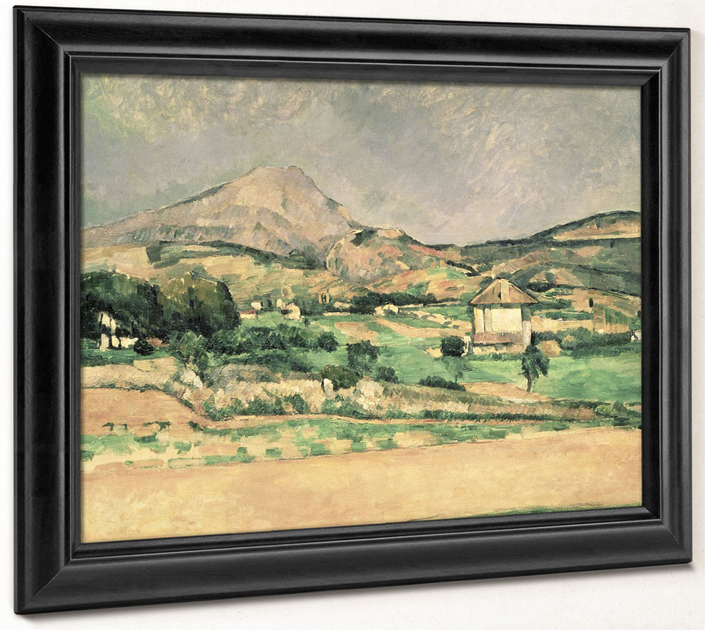 Montagne Sainte Victoire 8 By Paul Cezanne