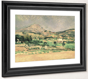 Montagne Sainte Victoire By Paul Cezanne