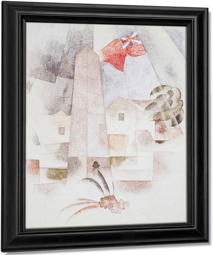 Monument, Bermuda By Charles Demuth