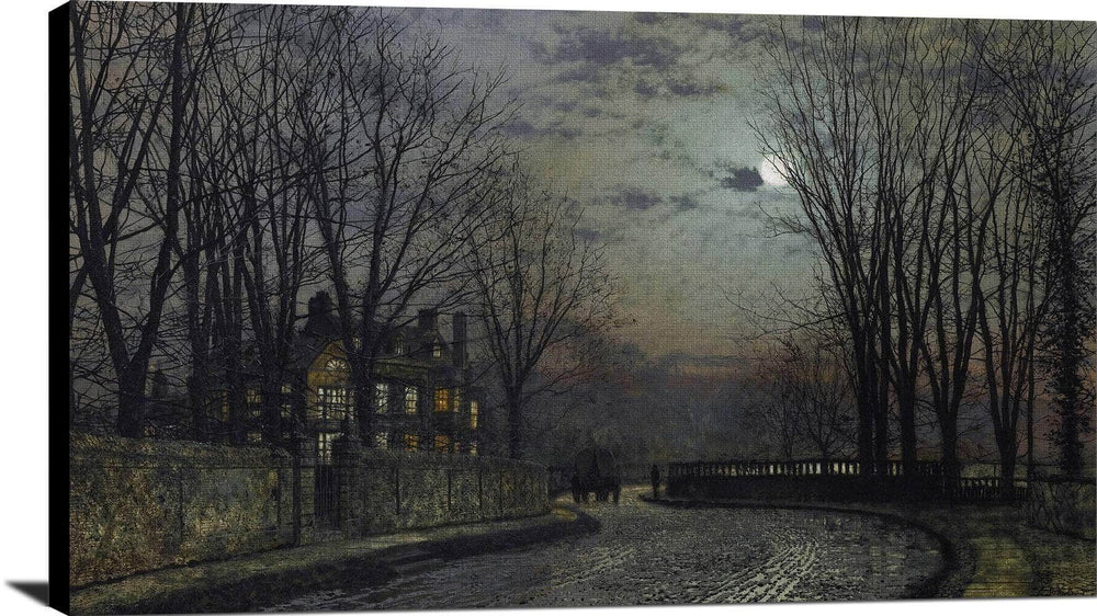 Moonlight After Rain Painting John At Print Canvas Art Framed Print Truly Art