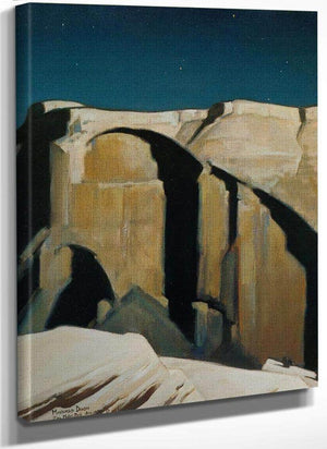 Moonlight Over Zion By Maynard Dixon