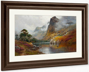 Morning Mists In The Trossachs By Alfred De Breanski