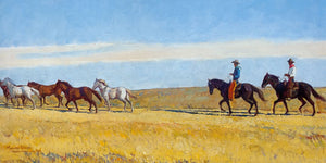 Morning On The Plains By Maynard Dixon